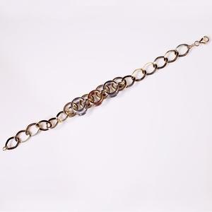 Tri-Color Gold Bracelet  SOLD