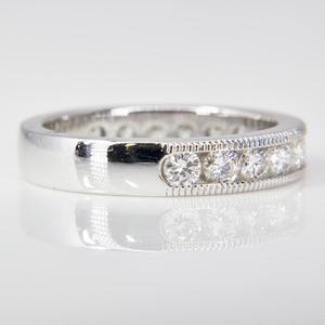 White Gold Diamond Anniversary Band