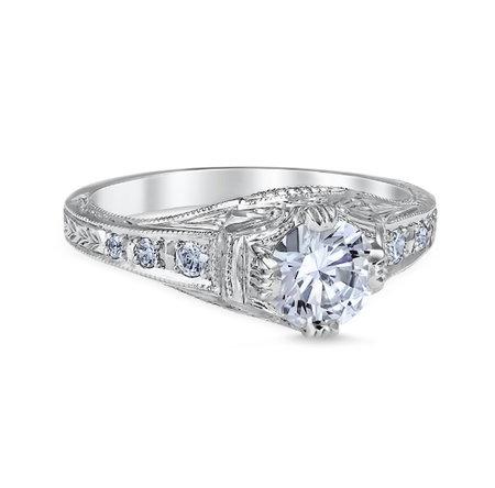 White Gold Fiorella Engagement Ring