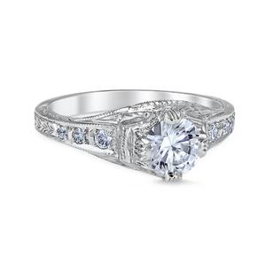 White Gold Fiorella Engagement Ring