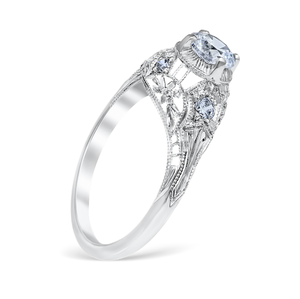 White Gold Luana Engagement Ring