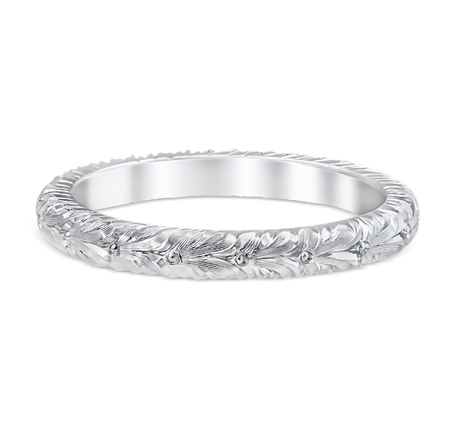 White Gold Silvana Wedding Band
