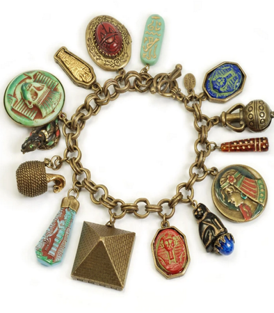 Ancient Egyptian Charm Bracelet