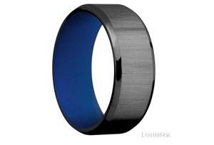 Zirconium Wedding Band Z8B(S)
