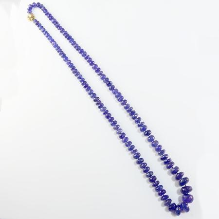Faceted Tanzanite Necklace