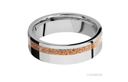 Cobalt Chrome Wedding Band HWSLEEVECC7F12OC/MOSAIC