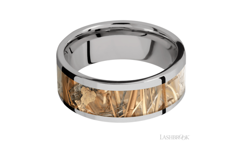 Titanium Wedding Band 8FR