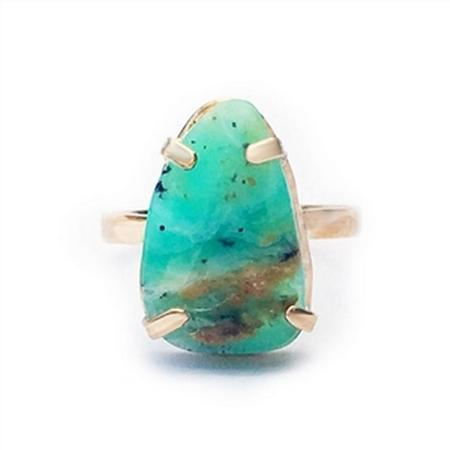 Cusco Peruvian Opal Ring