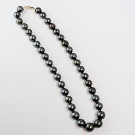 Faceted Pyrite Tassel Necklace