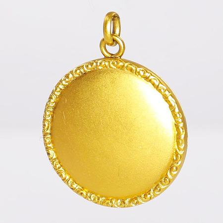 Yellow Gold Antique Gold Locket