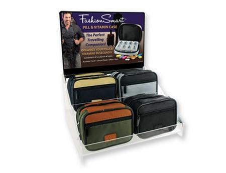 Men's Zippered Pill Case