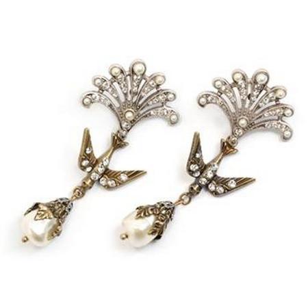 Little Swallows of Peace Earrings