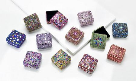 Small Square Glitter Box