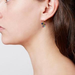 Rainbow Classic Jellybean Earrings