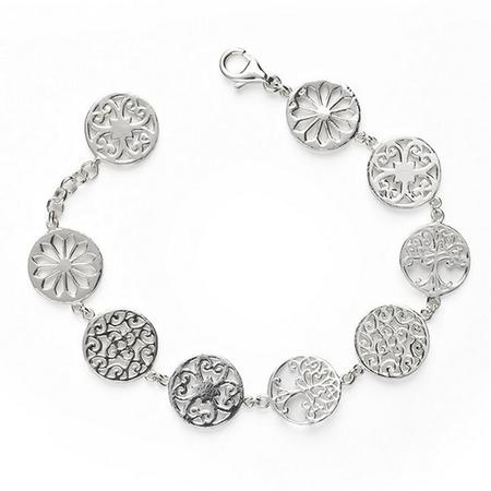 Southern Gates® Oak Tree And Gate Link Bracelet