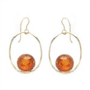 Gold Filled Catalina Gemstone Dangle Earrings