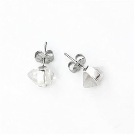 Herkimer Diamond Stud Earrings