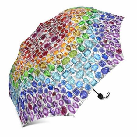 Rainbow Gemstone Umbrella (Automatic)