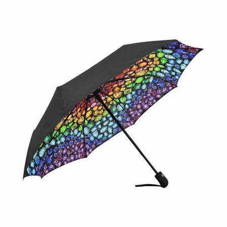 Black Hidden Gemstone Umbrella (Automatic)