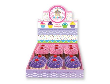 Sparkling Cupcake Pendant Surprise