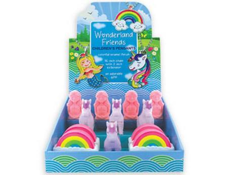 Wonderland Friends Surprise Pendant