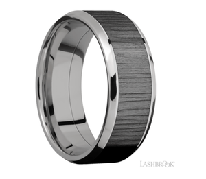 Titanium Wedding Band PF81316/ZIRCO
