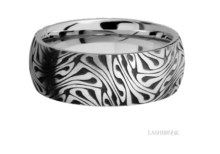Cobalt Chrome Wedding Band CC8D/LCVESCH