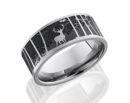 Titanium Wedding Band 9FLCVELKMOUN