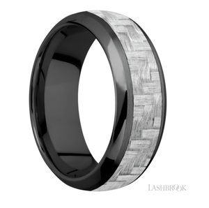 Zirconium Wedding Band ZC8815/SILVERCF