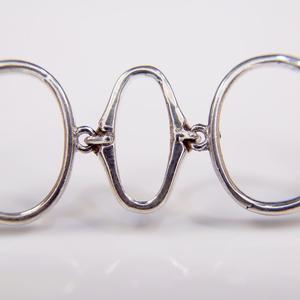 Sterling Silver Modern Link Bracelet  SOLD