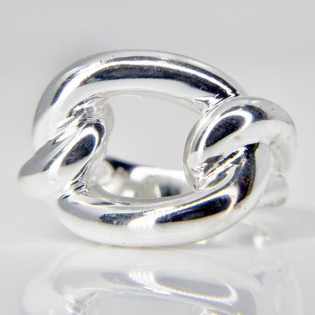 Sterling Silver Contemporary Knot Ring  SOLD
