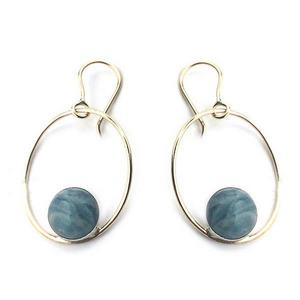 Catalina Rhyolite Dangle Earrings